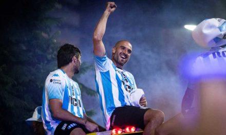 ¡Racing campeón!