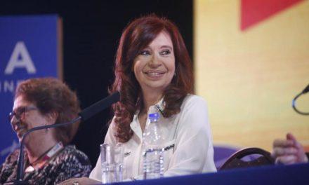 Cristina candidata… a vice