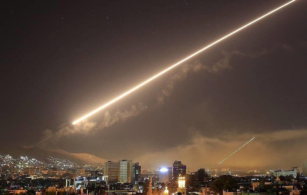 Misiles sobre Siria