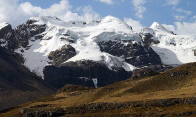Glaciares andinos en riesgo