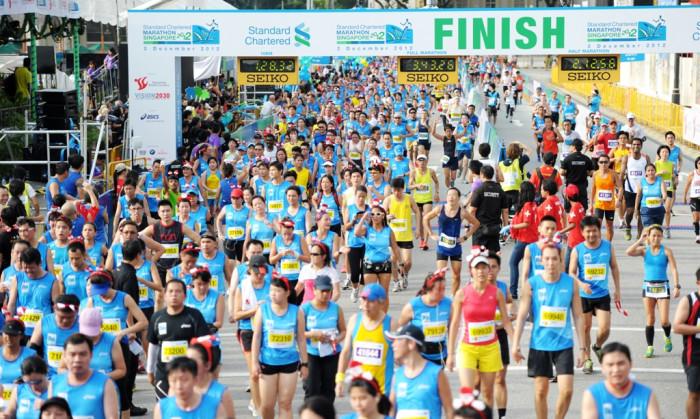 Top ten de maratones