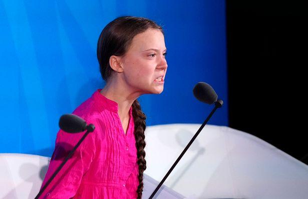 Greta Thunberg contra el cambio climático