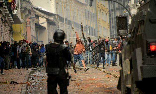 Ecuador en las calles