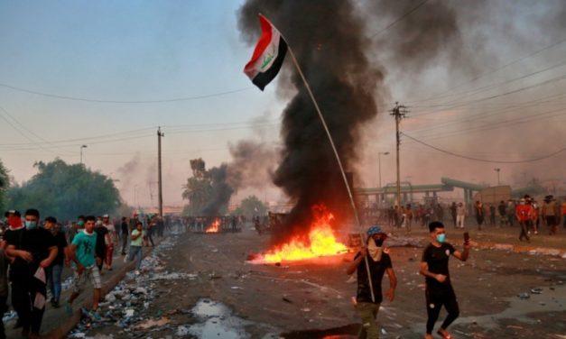 Semana de calvario en Irak