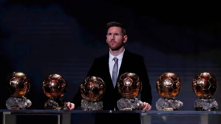 Messi y Rapinoe de oro