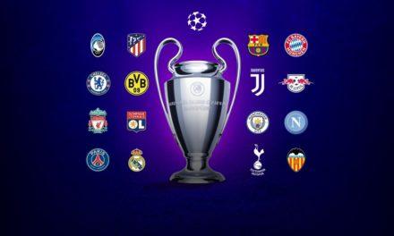Los clasificados de Champions League