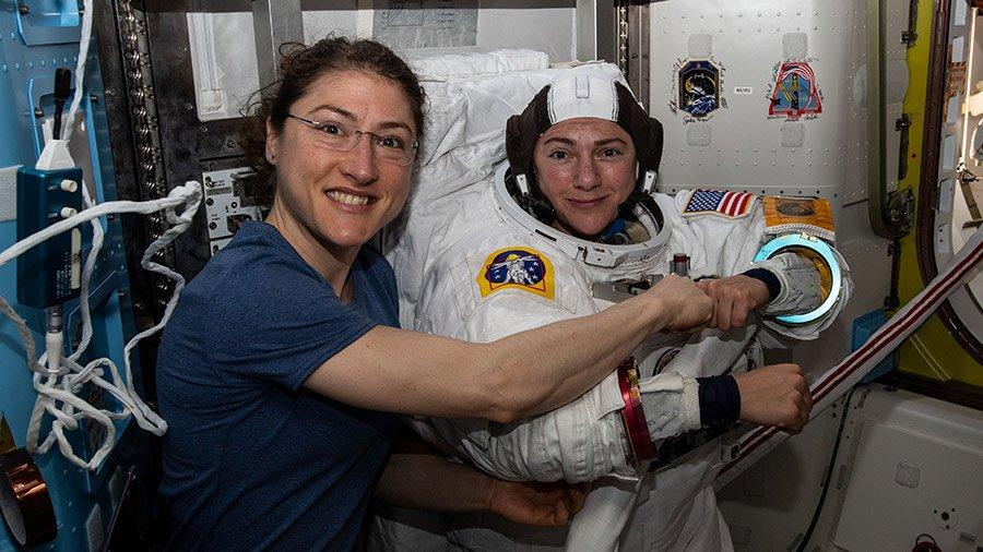 La misión de las astronautas