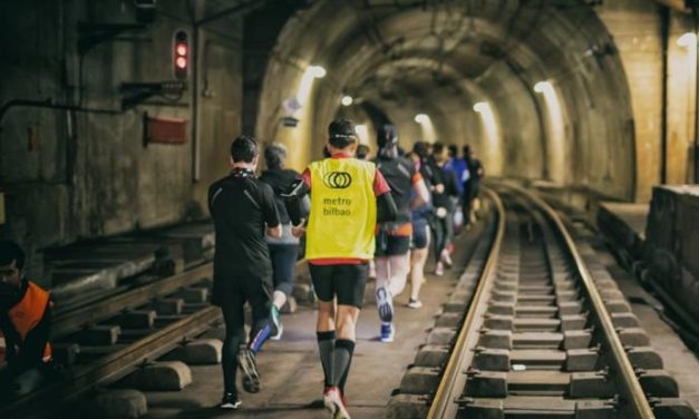 Por las vías del subterráneo