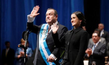 Guatemala tiene nuevo presidente
