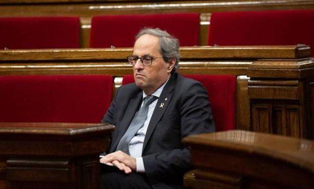 Cataluña sin presidente