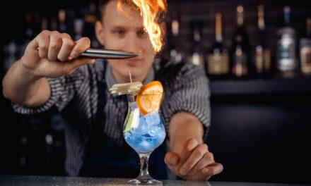 Coctelería, flair y el arte detrás de un trago