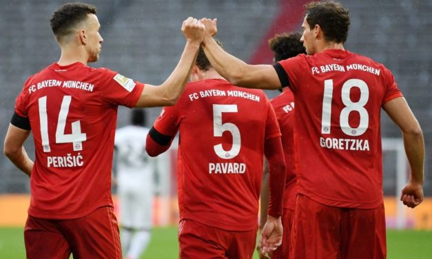 Munich con chapa de líder