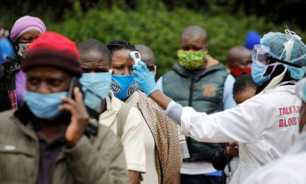 África bajo pandemia