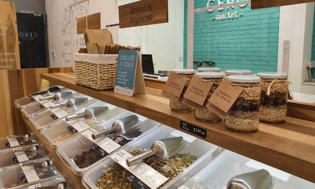 Mercado sustentable libre de envases