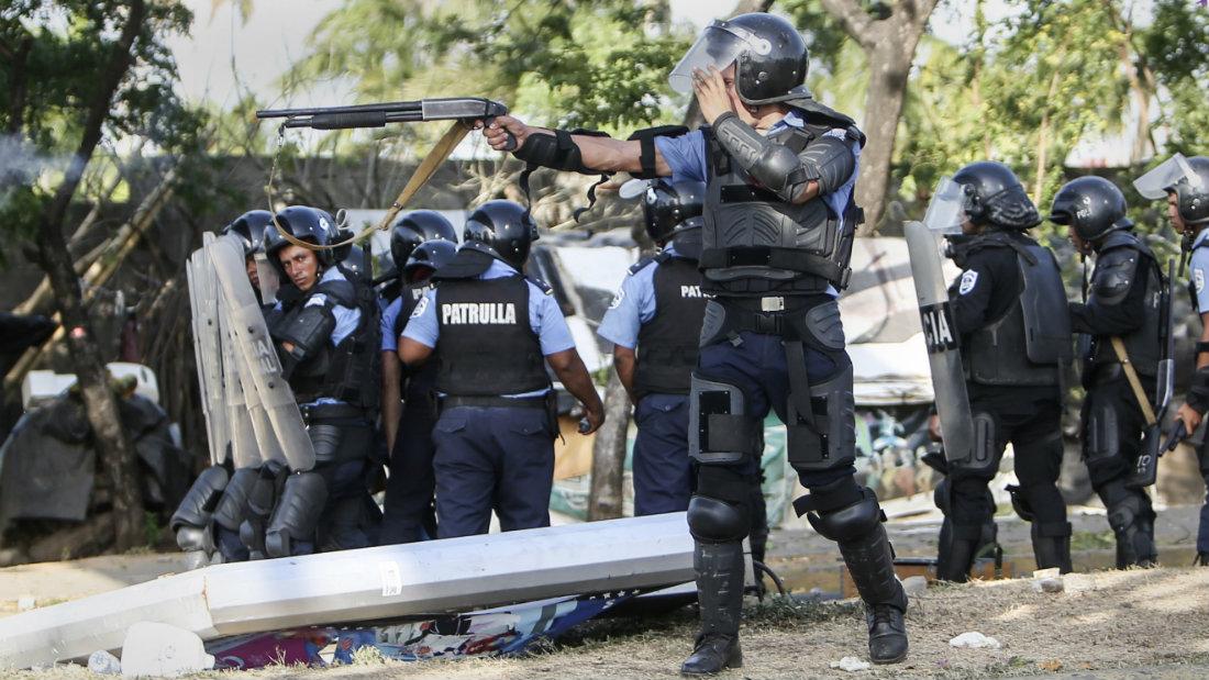 Crímenes de lesa humanidad en Nicaragua