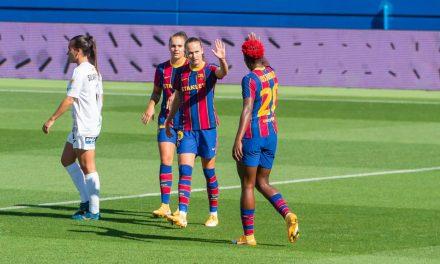 Barcelona y Athletic comparten la punta