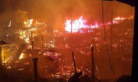 Entre llamas e inundaciones