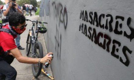 Toque de queda y violencia en Colombia