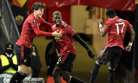 Imponente victoria de Manchester United