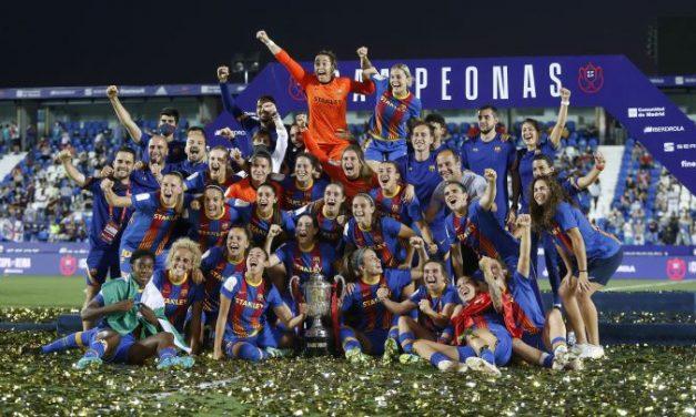 Triplete para Barcelona